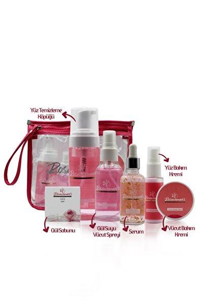 Rosawomans Yüz Temizleme Köpüğü,24k Gold Beauty Yüz Serumu,vücut Bakım Kremi,gül Suyu Vücut Spreyi,natural Soap