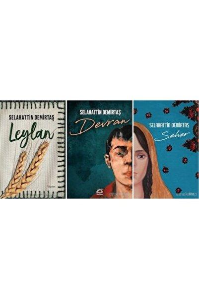 Dipnot Yayınları Leylan Devran Seher Selahattin Demirtaş 3 Kitap