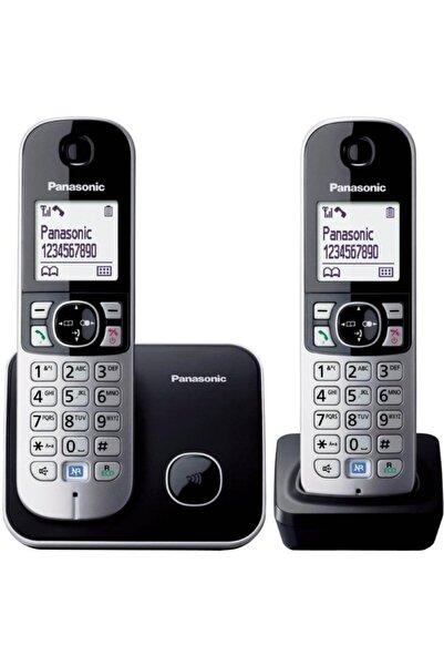 PANASONIC Kx-tg6812 2 Ahizeli Telsiz Dect Telefon Siyah