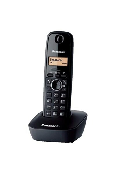 PANASONIC Kx-tg1611 Siyah Telsiz Dect Telefon