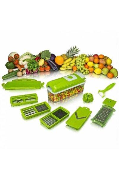 CVS Nicer Dicer Plus Doğrayıcı Rende Mutfak Robotu Çok Fonksiyonlu Set