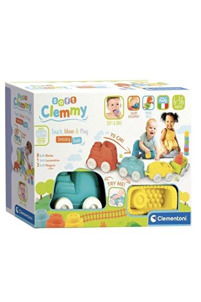 CLEMENTONI Soft Clemmy - Yumuşak Blok Duyusal Tren