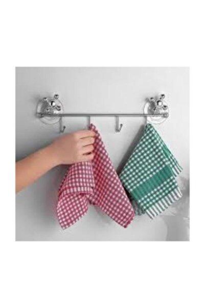 ORSA Vantuz 4'lü Havlu Banyo Askısı