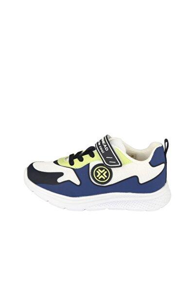 BUCKHEAD Buck4002 Tasmanian Mavi Sarı Çocuk Spor Ayakkabı