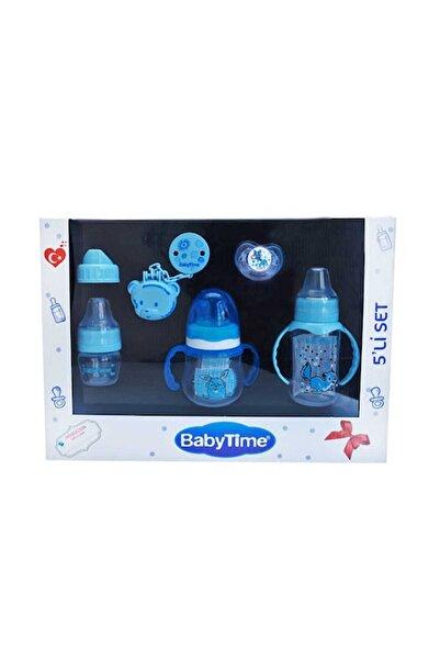 Babytime Mavi Hoşgeldin Seti 5'li