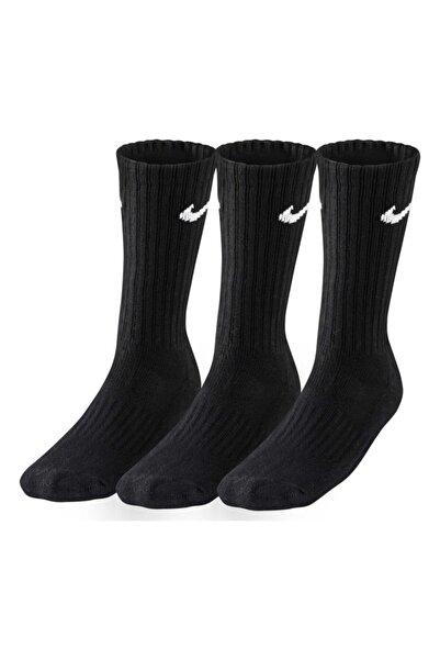 Nike Sx4508-001 3ppk Value Cotton 3lü Siyah Spor Çorap