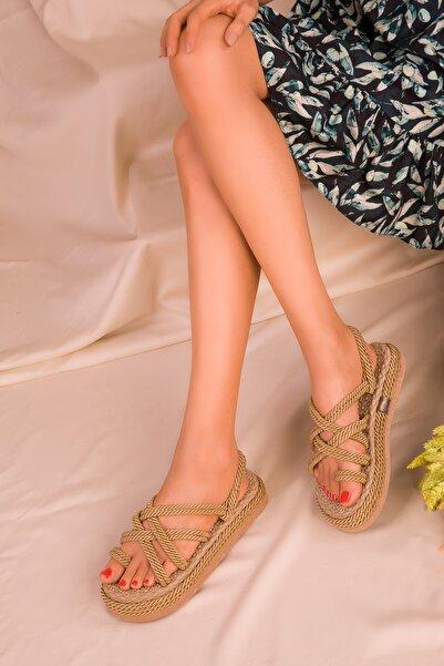 SOHO Gold Kadın Sandalet 16408