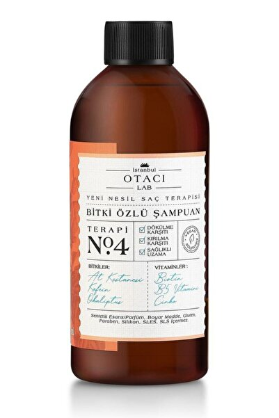 Otacı Lab Yeni Nesil Saç Terapisi Bitki Özlü Şampuan Terapi No:4