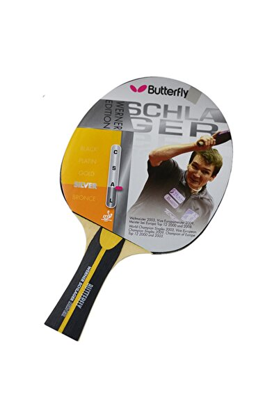 BUTTERFLY Werner Schlager Silver Masa Tenisi Raketi