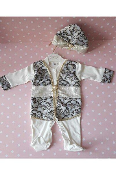 Ponpon Baby Yenidoğan Erkek Bebek Mevlütlük Şehzade Kıyafeti