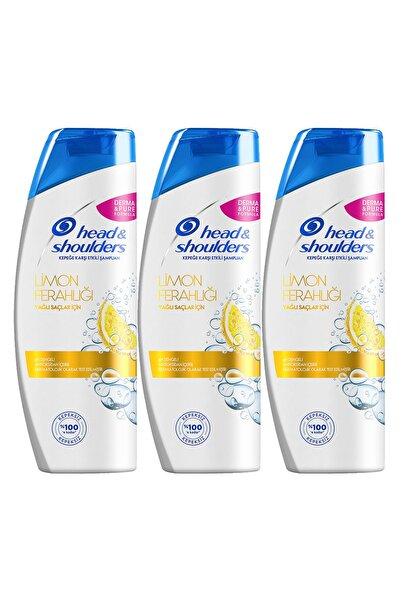Head&Shoulders Head & Shoulders Kepek Karşıtı Şampuan Limon Ferahlığı 400 ml x 3