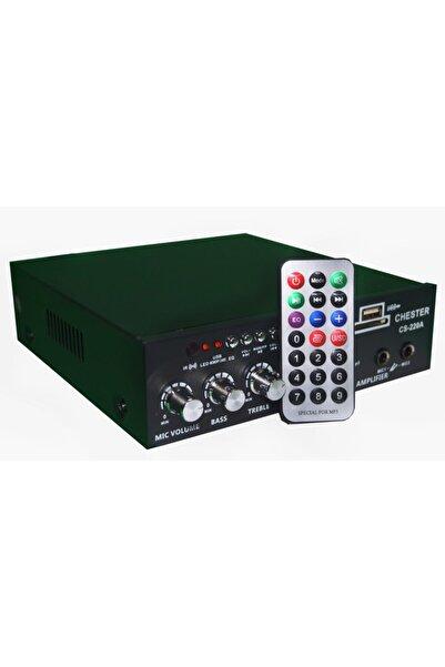 StoreX Bluetooth Usb Sd Kart Okuyucu Kumanda Stereo 2x40w Amfi 220v - Dc12v Mixer Ev Anfi