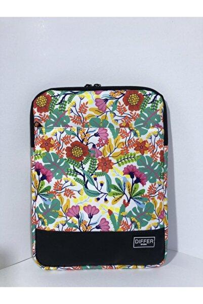Differ Studio 14'' Inç Çiçek Desenli Laptop/macbook/notebook/tablet/evrak Kılıfı