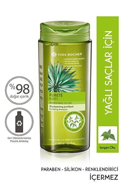 Yves Rocher Yağlı Saçlar İçin Ar��ndırıcı Şampuan - 300 ml