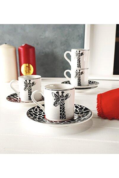 REGNA HOME Zürafa 2 Kişilik Kahve Fincan Takımı