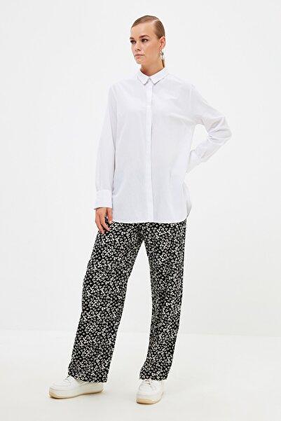 Trendyol Modest Siyah Pantolon Tesettür Pantolon TCTSS21PL0648