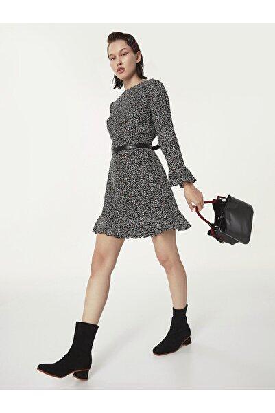 Twist Kalp Desen Elbise