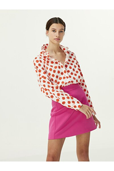 Twist Çiçek Desen Gömlek