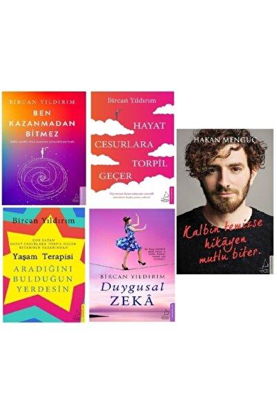 Destek Yayınları Bircan Yıldırım 4 Kitap Set + Kalbin Temizse Hikayen Mutlu Biter