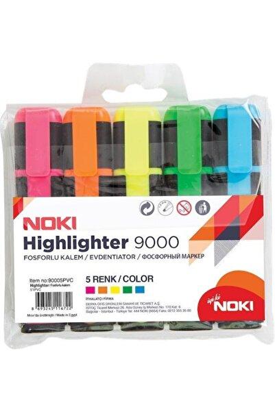 Noki Fosforlu Kalem 5 Renk Set