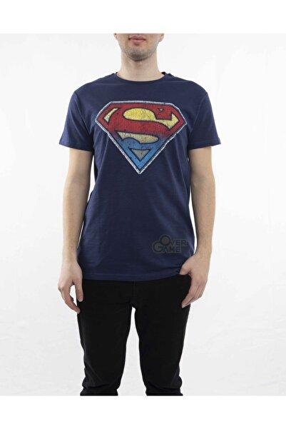 MARVEL Superman Retro Logo Lacivert T-shirt-lisanslı