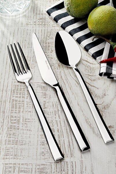 Hisar Optima Miami 30 Parça Çelik Çatal Kaşık Bıçak Seti