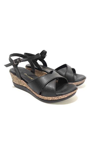 Caprise Kadın Dolgu Topuk Sandalet