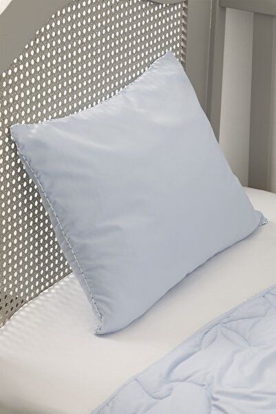 English Home Pure Mikrofiber Bebe Yastık 35x45 Cm Mavi