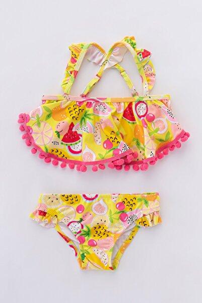 Penti Kız Çocuk Tropical Bikini Takımı