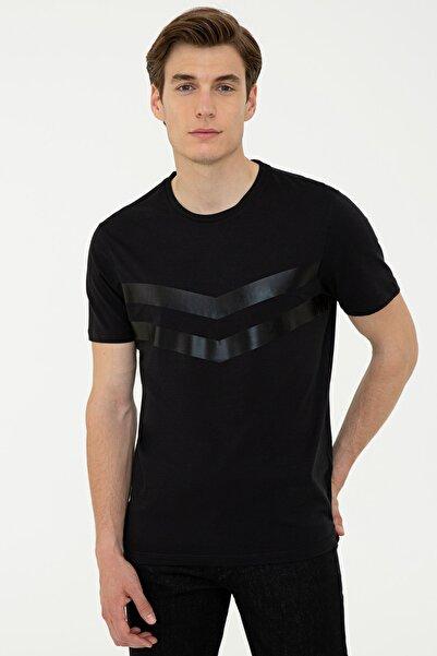 Cacharel Sıyah Erkek T-Shirt G051SZ011.000.1301061