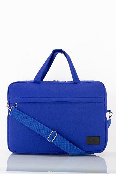 KAFF Oxford Koyu Mavi Laptop Ve Evrak Çantası