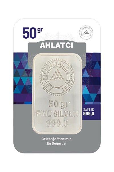 Ahlatcı 50 Gram Külçe Gümüş