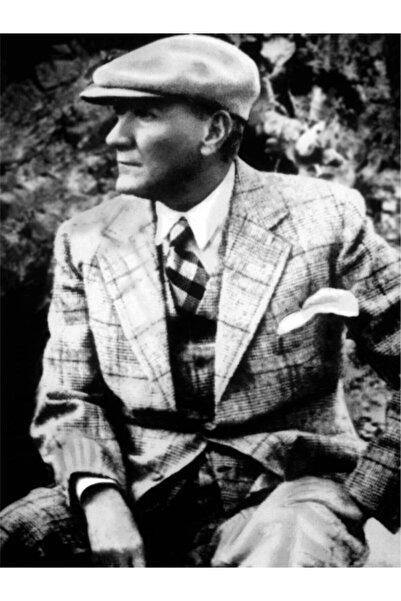 fotolyo Atatürk Portresi Kanvas Tablo