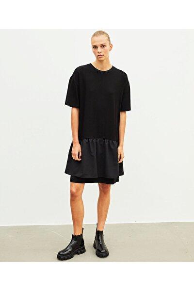 İpekyol Fırfır Şeritli Elbise