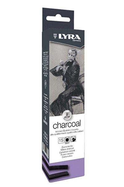 LYRA Willow Charcoal Füzen - Doğal Kömür Çubuklar 5-6 Mm. 15 Adet
