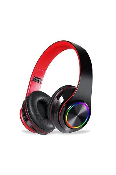 Torima B39 Bluetooth Kablosuz Stereo Kulaklık Kırmızı - Siyah