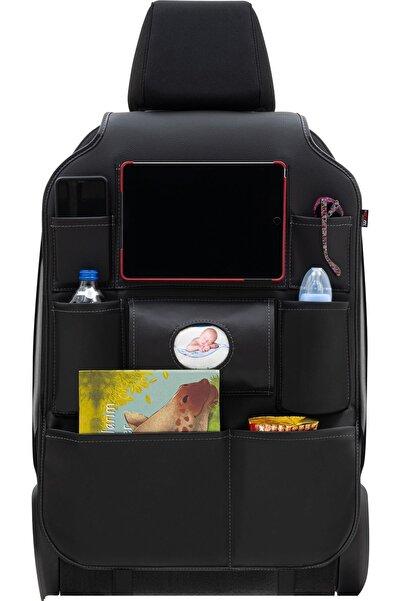 Otom Premium Deri Koltuk Arkası Organizer Eşya Düzenleyici Siyah