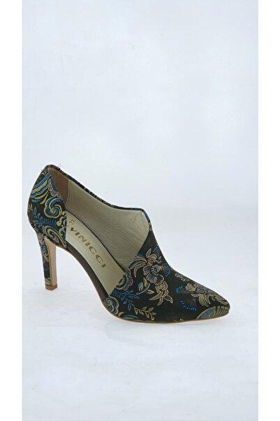 VİNİCCİ AYAKKABI Hakiki Deri Stiletto Ayakkabı