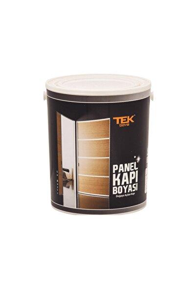 TEK BOYA Su Bazlı Ahşap Kapı Ve Amerikan Panel Kapı Boyası 0,75 Litre Koyu Kahve