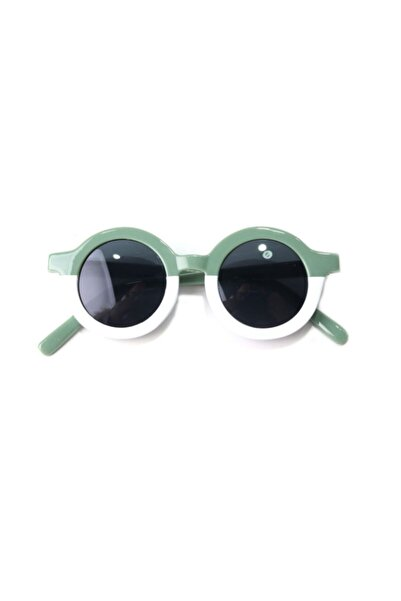 CAROTA Çocuk Güneş Gözlüğü Çift Renk Yeşil Beyaz