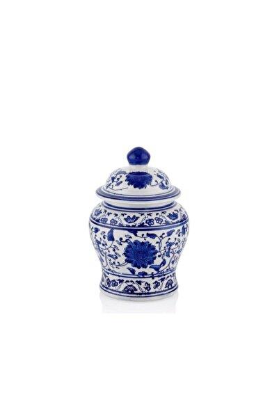 LAMEDORE Bleu Blanc A Kavanoz/dekor 17cm
