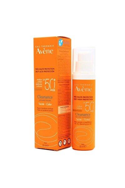 Avene Cleanance Solaire Tinted Renkli Spf 50+ 50ml