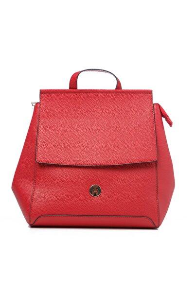 TH Bags Kadın / Kız Sırt Çantası Kırmızı