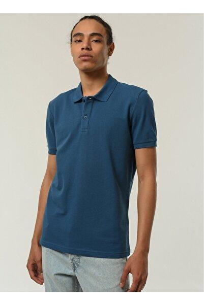 Fabrika Erkek Polo Yaka T- Shirt İndigo
