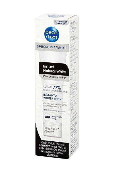Pearl Drops Instant Natural White Diş Macunu 75 ml