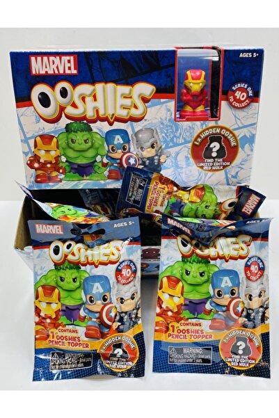 MARVEL Avengers Ooshies Süpriz 10 Paket Birlikte Orijinal