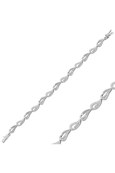 Silverella Gümüş 925 Ayar Zirkon Taşlı Bileklik