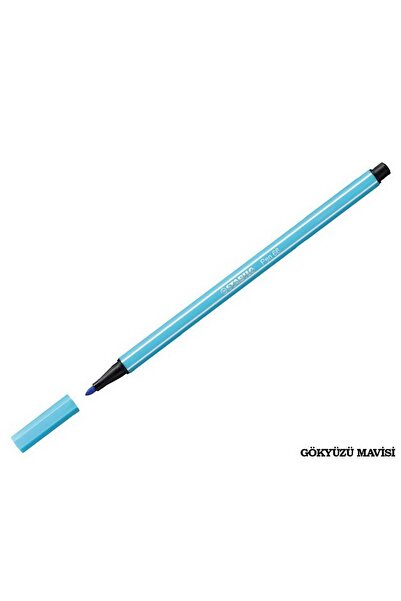 Stabilo Pen 68 Keçeli Kalem - Gökyüzü Mavisi