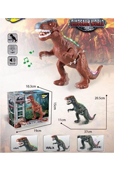 anıloyuncak Oyuncak Sesli Işıklı Dinozor 35 Cm Dinazor Yürüyen