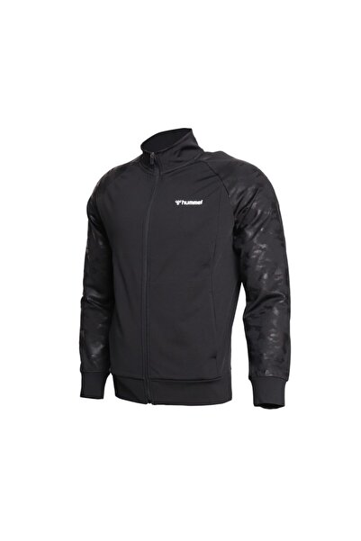 HUMMEL Hmlcamu Zip Jacket Erkek Günlük Ceket 921225-2001 Siyah